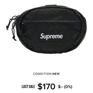 supreme fw18 waist bag